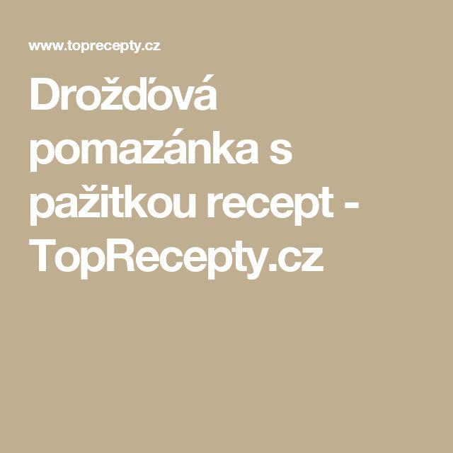 Drožďová pomazánka s pažitkou recept - TopRecepty.cz