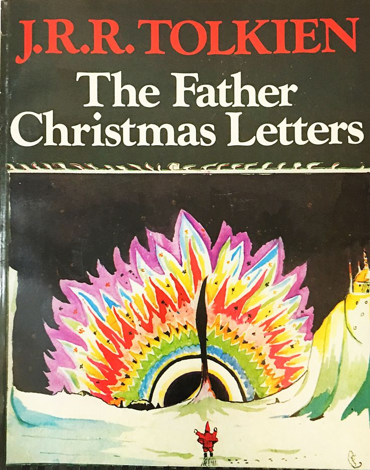 The Father Christmas Letters. Tolkien, J.R.R. Vintage book circa 1979. Unique gift! Hobbit, Lord of the Rings, SciFi.