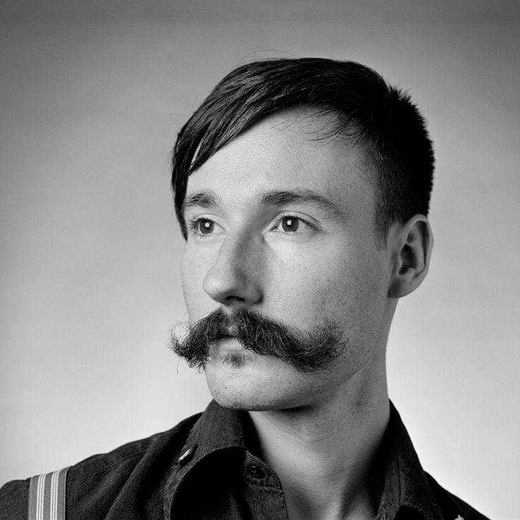 How to Grow and Style a Handlebar Moustache by Male Standard
