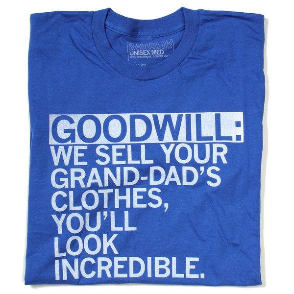 Goodwill Shirt