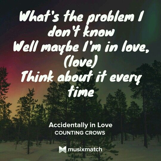 Accidentally in love