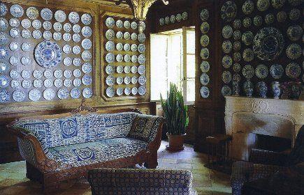 Great wall of China!: Wall Decor, Blue Interiors, Plates, Display, Decorating, Collections, China