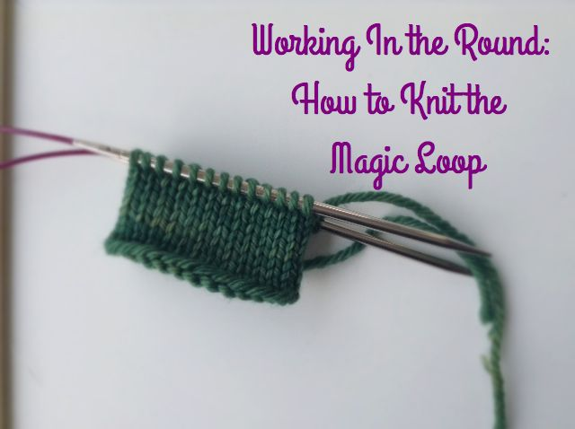 How to cast on using a magic loop #knitting