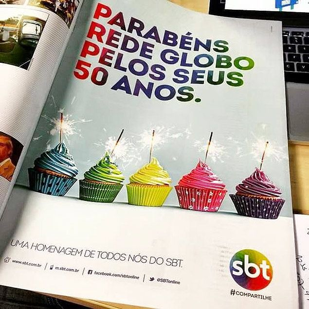 SBT e TV Gazeta parabenizam Globo por seus 50 Anos #Festa, #Fotos, #Globo, #Mundo, #Record, #RedeGlobo, #Sbt, #SilvioSantos, #Tv, #TVGlobo http://popzone.tv/sbt-e-tv-gazeta-parabenizam-globo-por-seus-50-anos/