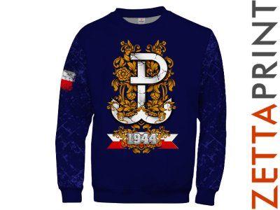 PW POLSKA WALCZĄCA Bluza Patriotyczna ZTT_RD1327