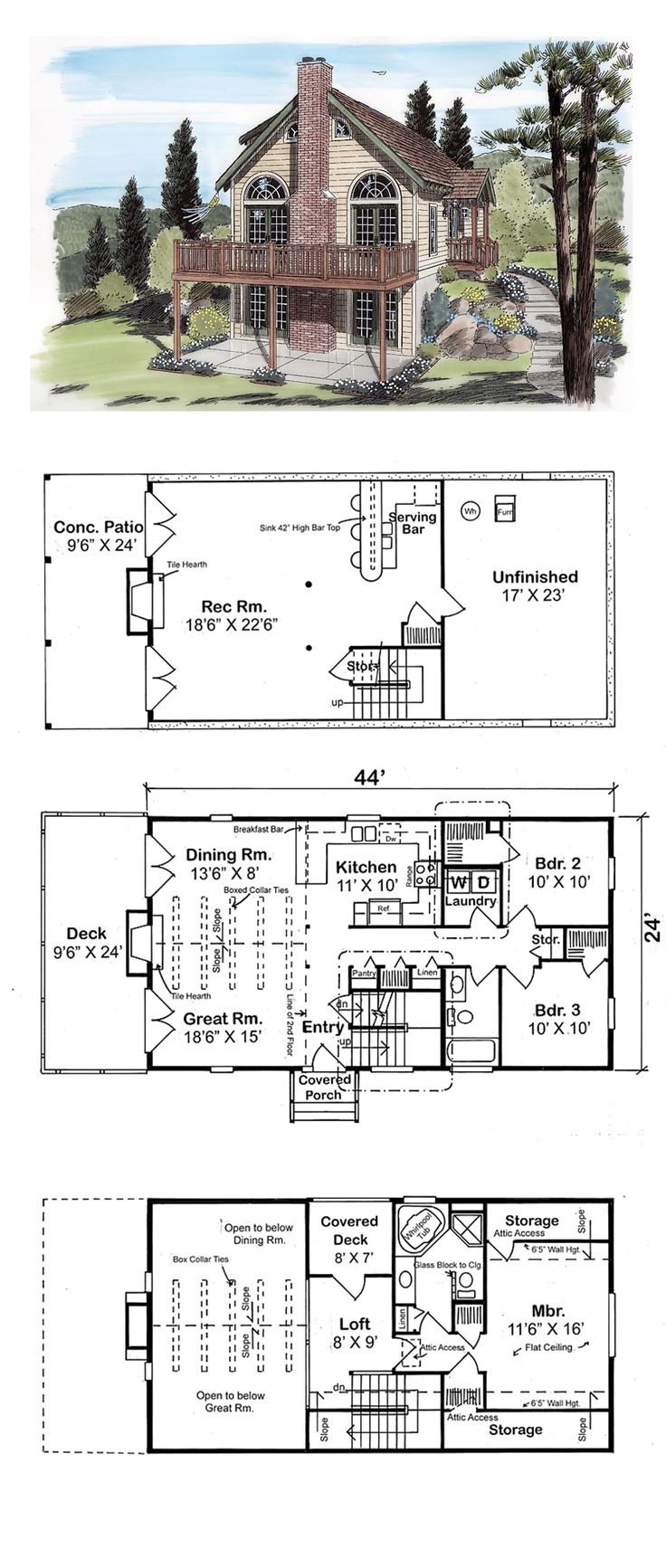 49 best luxury house plans images on pinterest luxury house narrow lot house plan 24705 total living area 1562 sq ft
