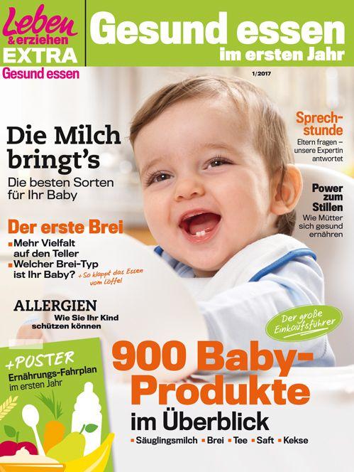 Welche Säuglingsmilch hilft, Allergien vorzubeugen? Welchen Brei bekommt mein Baby zuerst? Ab welchem Alter sind Kinderkekse okay?