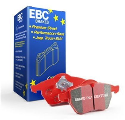 EBC 2012-2015 Mercedes-Benz SLK55 ML63 AMG/ 2013-2015 Mercedes-Benz GL63 AMG/ 2014-2015 Mercedes-Benz CLA45 AMG Redstuff Rear Ceramic Brake Pads