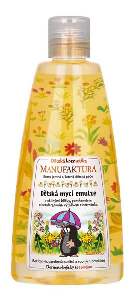 Cosmétiques tchèques, produits traditionnels à Prague. Magasin Manufaktura, cosmétiques pour enfant.  ©  www.manufaktura.cz