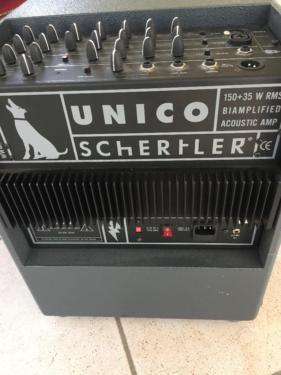 Schertler Unico Akustik Verstärker 150W + 35 W in Köln - Ostheim   Musikinstrumente und Zubehör gebraucht kaufen   eBay Kleinanzeigen