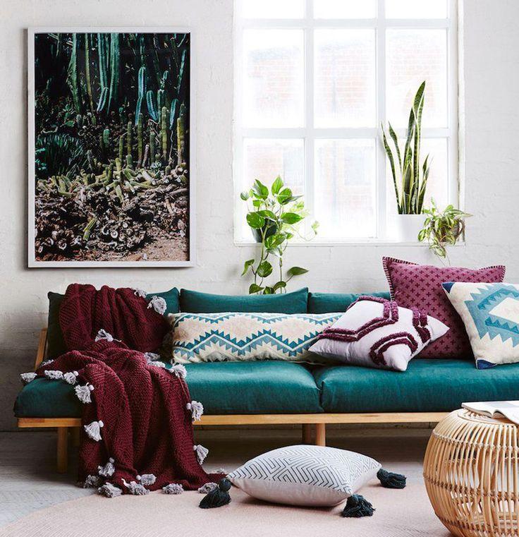 les 25 meilleures id es de la cat gorie canap bleu canard sur pinterest bleu canard velours. Black Bedroom Furniture Sets. Home Design Ideas