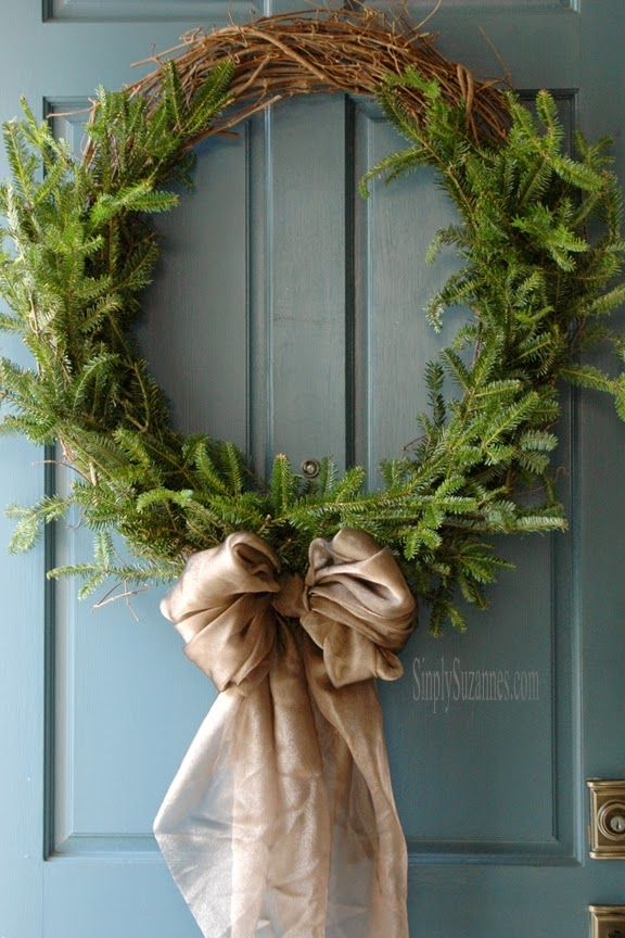 Simply Suzanne's AT HOME: diy laurel wreath for Christmas