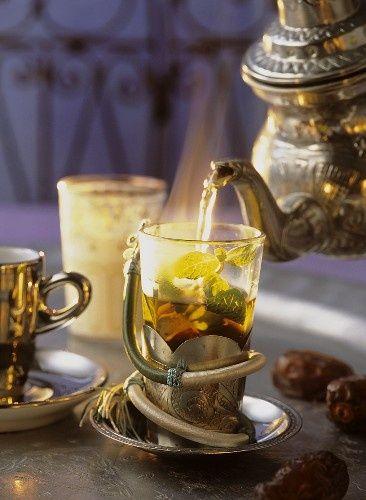 Moroccan mint tea… (via pinterest)