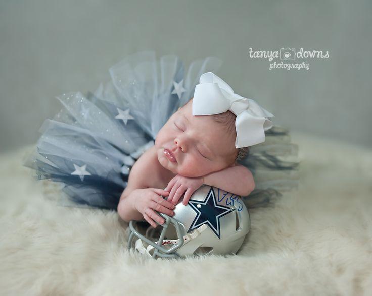 Lexi newborn super sweet newborn photography cowboys fans newborn girl posed