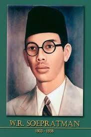 "Wage Rudolf Supratman, who composed the national anthem ""Indonesia Raya"" in 1925."