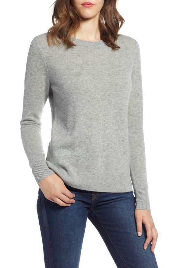 9e5b39c1253 Crewneck Cashmere Sweater HALOGEN® from Nordstrom.com