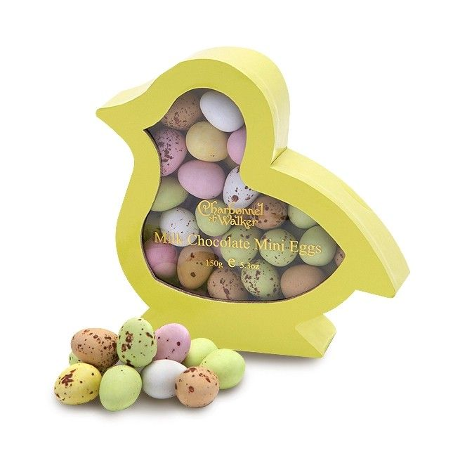 51 best easter eggs images on pinterest easter gift gift bags easter chick mini eggs by charbonnel et walker an easter chick shaped gift box filled negle Choice Image