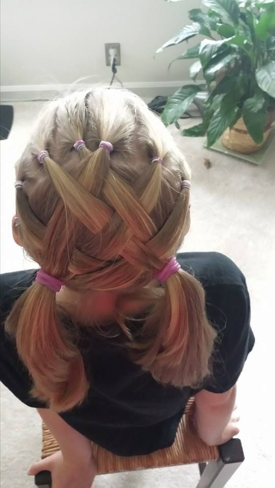 How To Make A Basket Weave Hairstyle : Basket weave hair baskets
