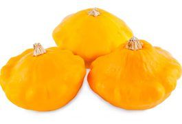 Sunburst squash are a heritage variety of summer squash related to the pattypan squash. The sunburst varietal is short and round, with slightly scalloped edges and a characteristic orange-yellow color.   Use sunburst squash in any recipe that calls for summer squash. The bright, sunny color for which it is named will help the dish to pop, making it...