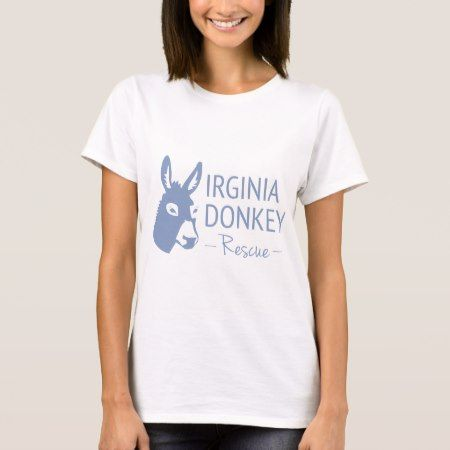 Virginia Donkey Rescue T-Shirt - click/tap to personalize and buy