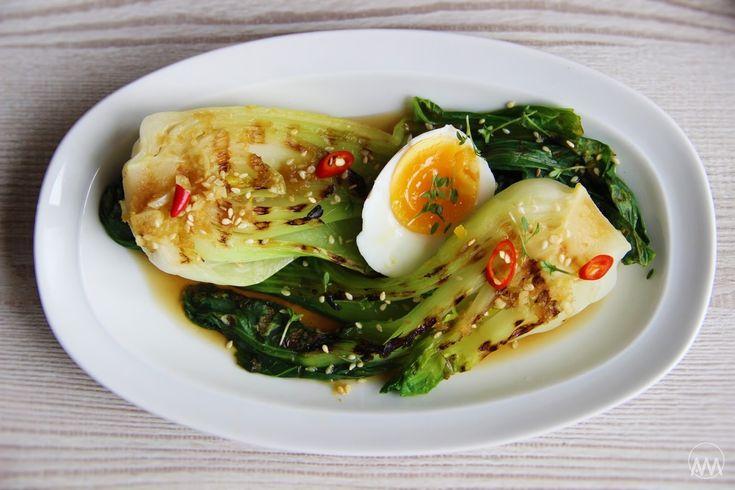 V kuchyni vždy otevřeno ...: Grilované pak choi ( bok choy ) s asijskou zálivko...