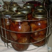 Canning Venison Recipe.  Oh good, finally. Looks sooo... red.