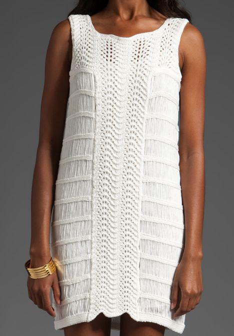 Crochet & Knit Dress. http://cdnd.lystit.com/photos/2011/05/16/tibi-cream-crochet-dress-beige-product-5-707787-601539488.jpeg