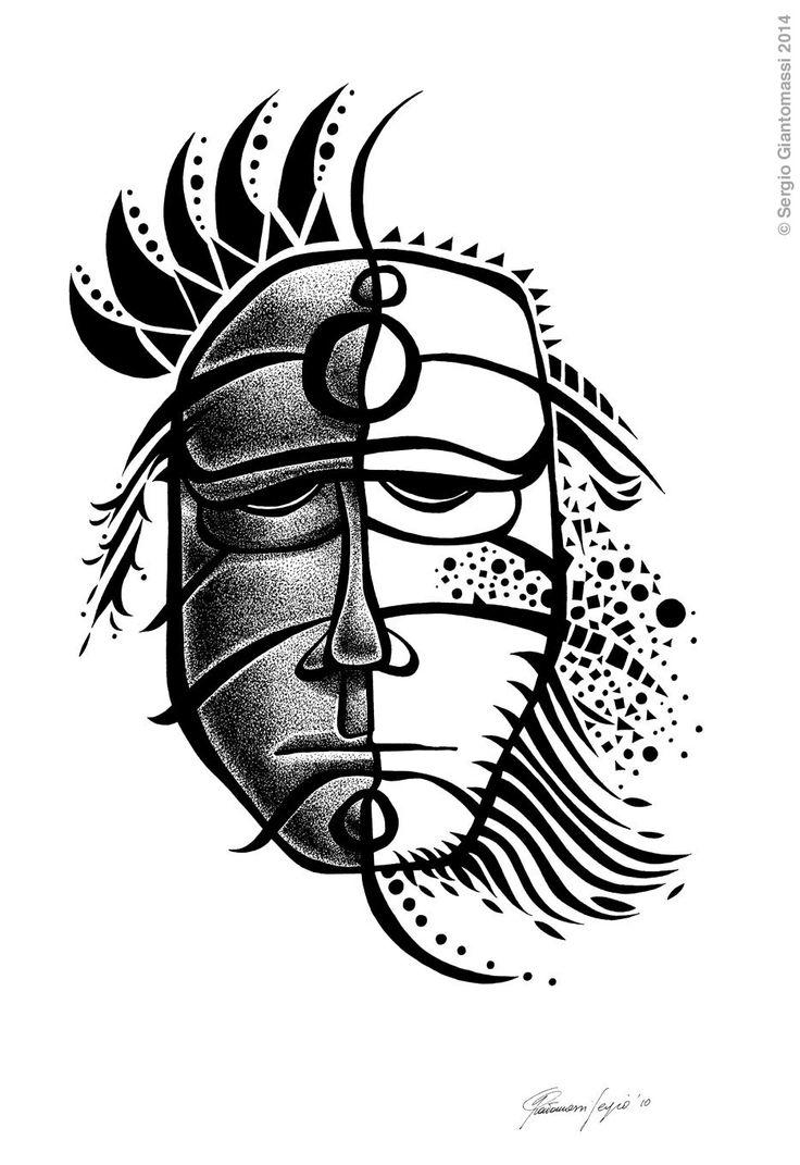 La maschera del guerriero