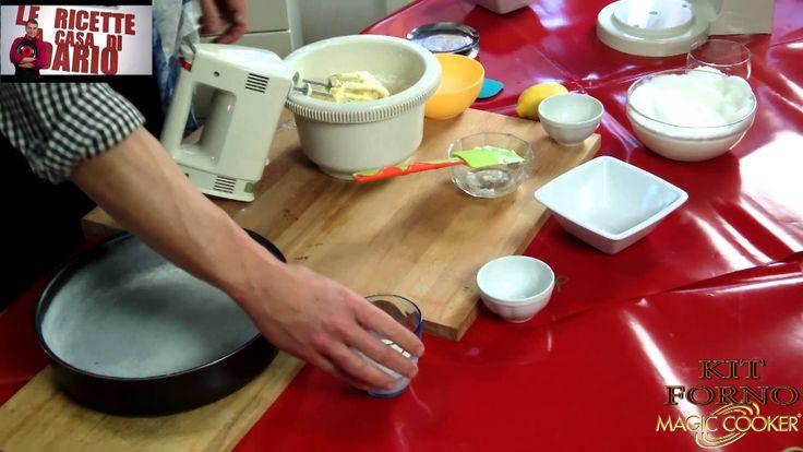 100 Torta margherita cucinata da Dario con il KIt forno Magic cooker