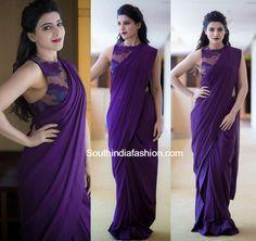 Samantha Prabhu in Poco & Jacky Saree