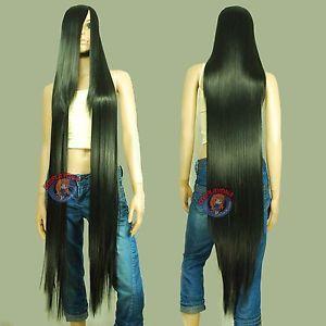 """50"""" wig for Marceline costume."""