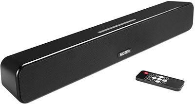 Micter Mini Outdoor Sound Bar Wireless Soundbar