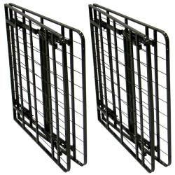 King-size Steel Folding Metal Platform Bed Frame