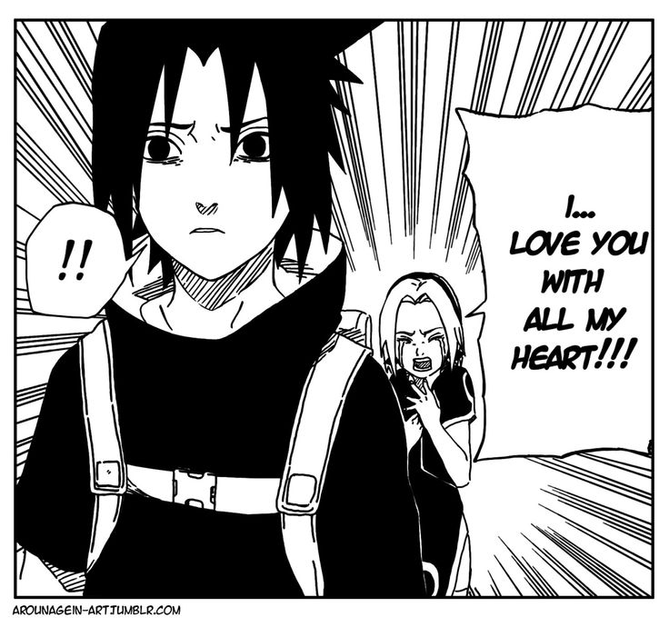 Kishi never showed us Sasuke's eyes when Sakura confessed her love! And this is frustrated... And the I found this! Now I'm satisfied:)