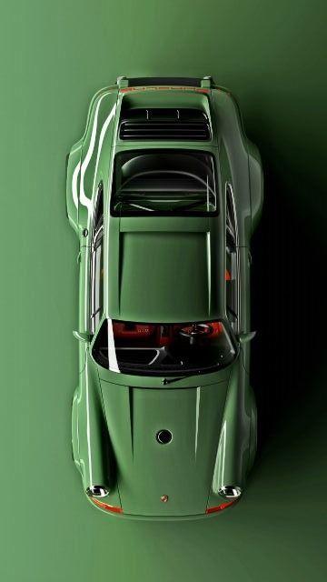 1990 Porsche 911 neu interpretiert von Singer …… .. #greens #porsche #classiccar   – Porsche