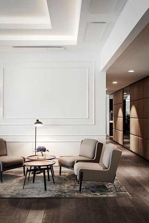 Marriott Copenhagen, Executive Lounge, interior design by Helle Flou