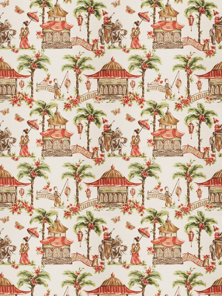 100 best chinoiserie fabric images on pinterest for Fabric store charlotte nc