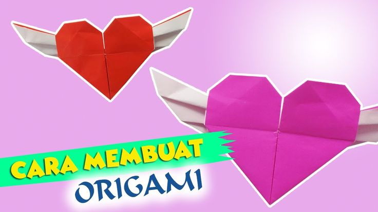 Cara Membuat Origami Hati | HD Citra Kreativita