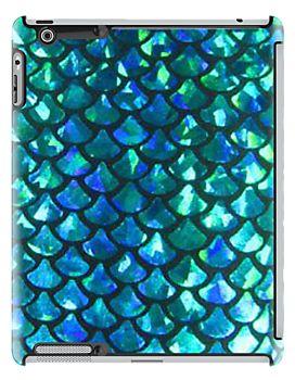 Mermaid Scales iPad Case - Available Here: http://www.redbubble.com/people/rapplatt/works/9903595-mermaid-scales-v1-0?p=ipad-case&ref=artist_shop_grid