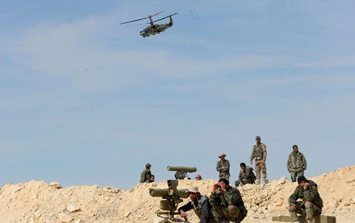 Sputnik Türkiye ///  'Ka-52 taarruz helikopterleri ile Su-25 savaş uçakları, Palmira'yı kurtarma operasyonuna katılacak'