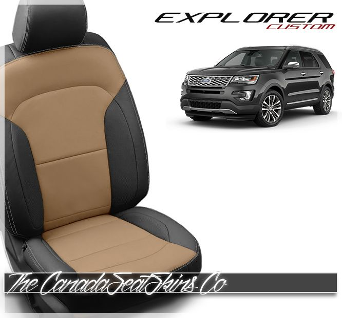 2016 2019 Ford Explorer Custom Leather Upholstery With Images