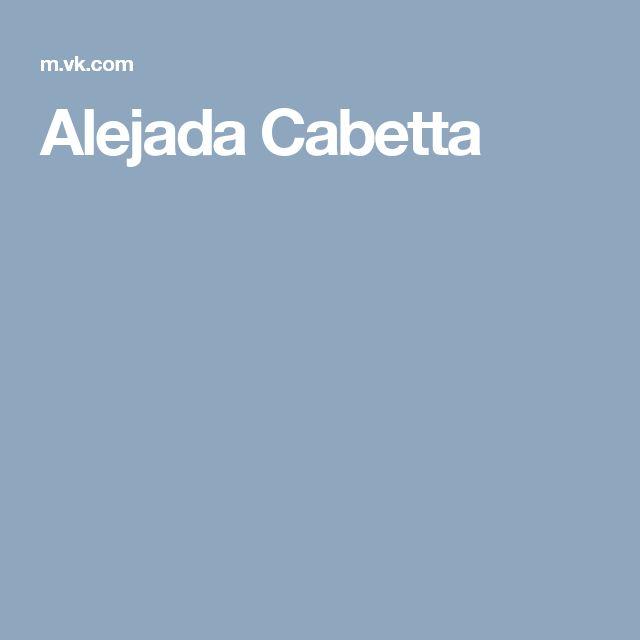 Alejada Cabetta