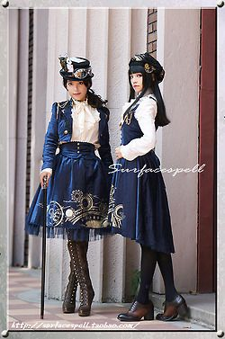 steampunk lolita | Tumblr