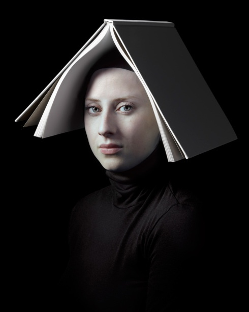 Hendrik Kerstens, Dutch photographer. Using his daughter as a subject, he mimics classic Dutch portraiture.