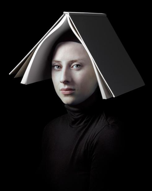 Hendrik Kerstens, Dutch photographer. Using his daughter as a subject, he mimics…
