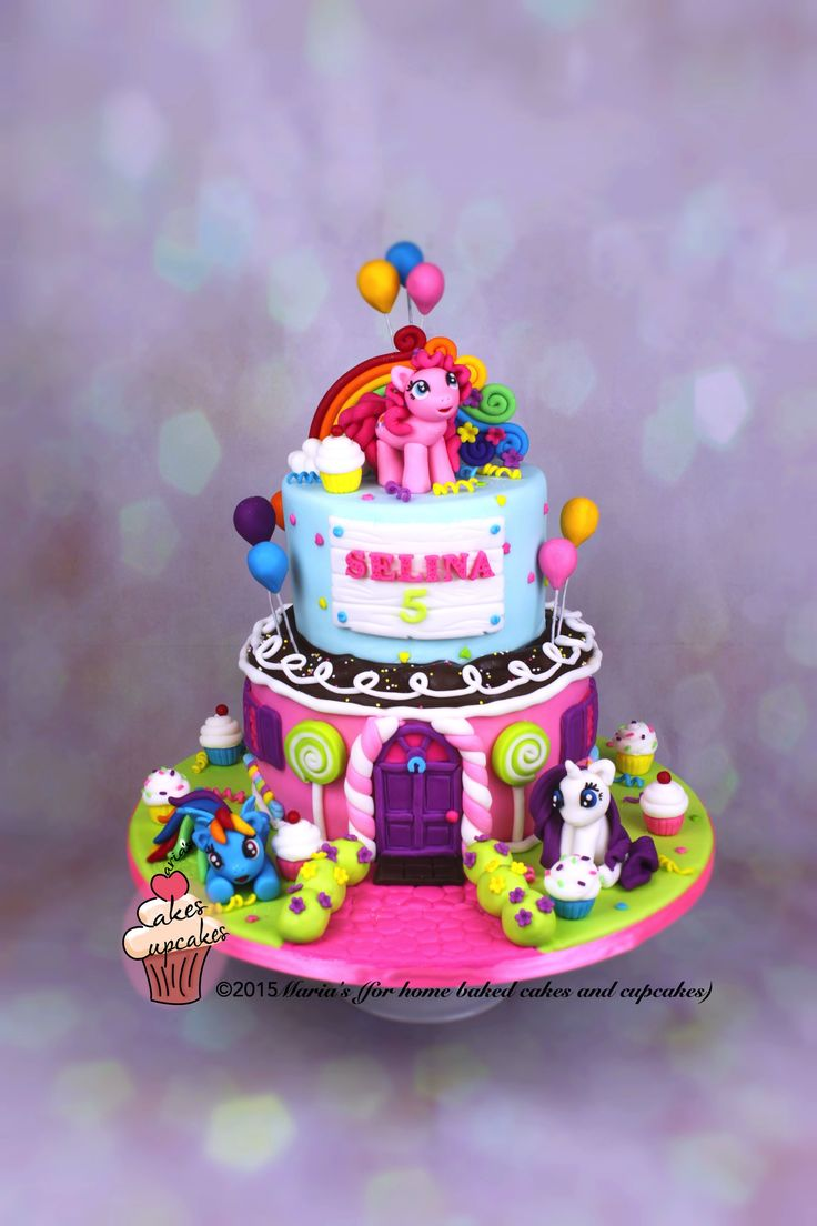 My Little Pony Cake For a little girl who turned 5