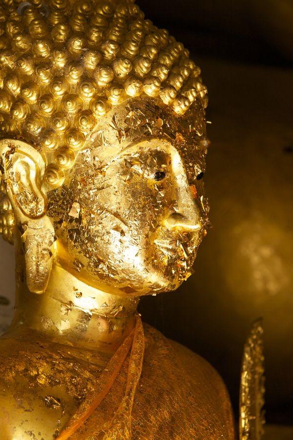 Gold Flecked Buddha - Thailand