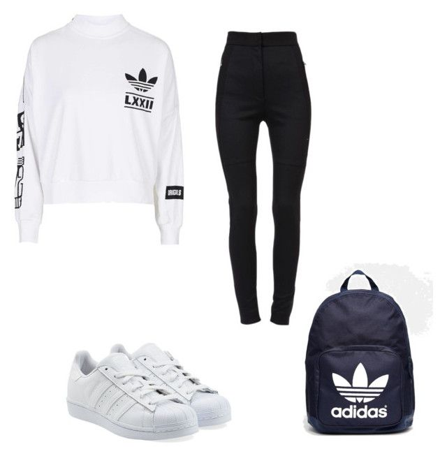 """"" by super19fam on Polyvore featuring beauty, adidas, Dolce&Gabbana and adidas Originals"