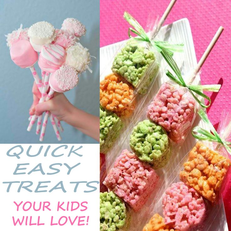 Quick Easy Treats For Kids and Birthday Parties!