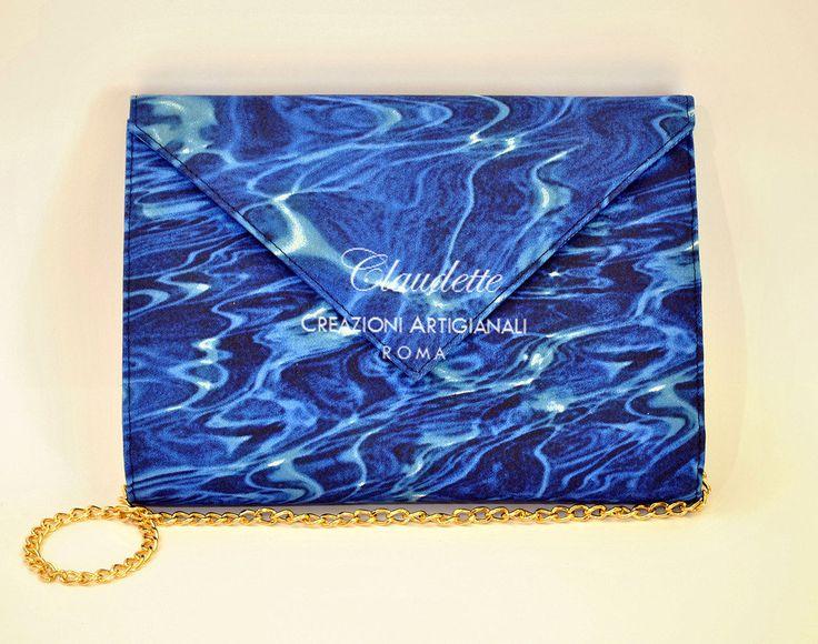 Claudette Roma glamour pochette in tessuto da giorno e da sera, by Claudette Roma, 140,00  su misshobby.com